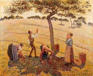 Camille Pissarro - Apple Picking at Eragny-sur-Epte  1888