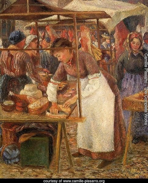 The Pork Butcher  1883
