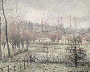 Snow Effect at Eragny, 1894