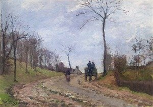 Impression of Winter: Carriage on a Country Road, 1872