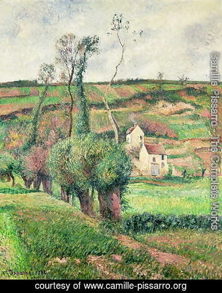 Camille Pissarro - The Cabbage Slopes, Pontoise, 1882