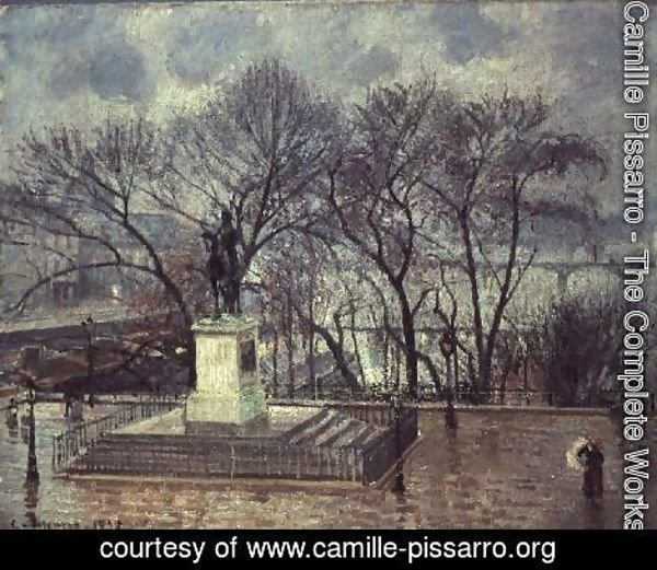 The Pont Neuf, Paris, 1902