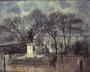 Camille Pissarro - The Pont Neuf, Paris, 1902