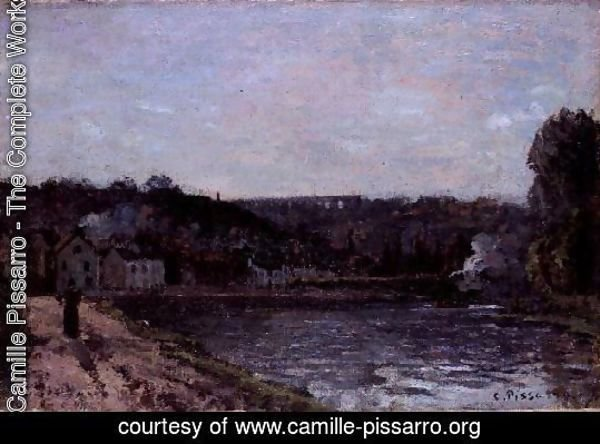 The Seine at Bougival, 1871