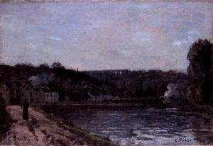 Camille Pissarro - The Seine at Bougival, 1871