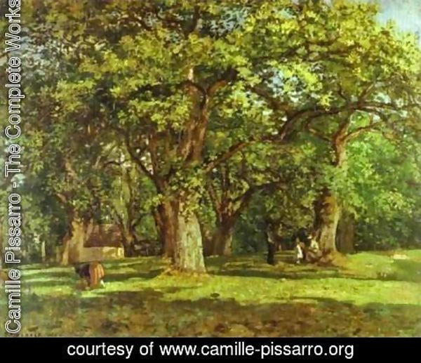 Camille Pissarro - The Forest, 1870