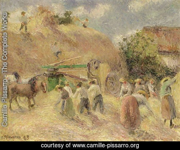The Harvest, 1883