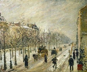 Camille Pissarro - The Boulevards under Snow, 1879