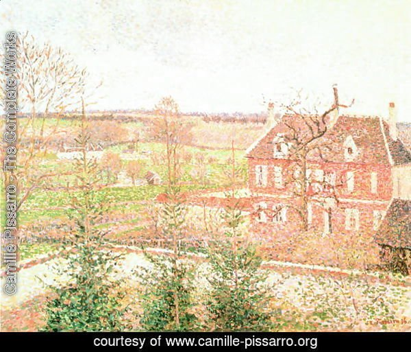 View From My Window The House Of Deaf Person 1886