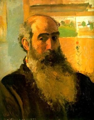 Camille Pissarro - Self Portrait, 1873