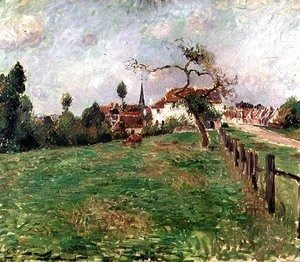 Camille Pissarro - The Village of Eragny