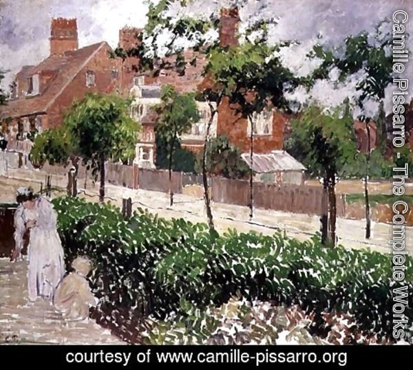 Camille Pissarro - Bedford Park, Bath Road, London