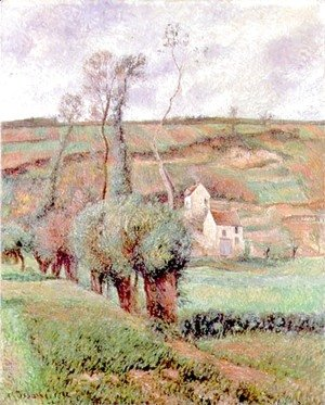 Camille Pissarro - The Cote de Chou at Pontoise, 1882