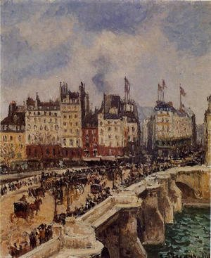 Camille Pissarro - The Pont Neuf, 1901