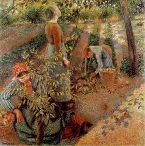 The Apple Pickers, 1886