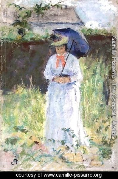 Camille Pissarro - Woman with a Parasol