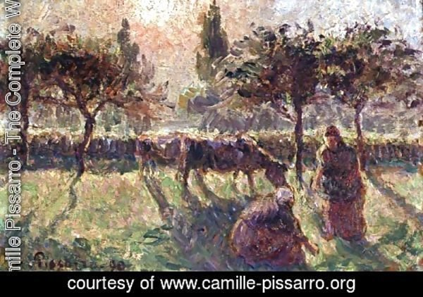 Camille Pissarro - In the Fields, 1890
