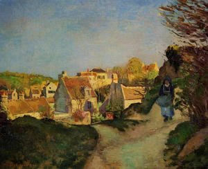 Camille Pissarro - The Hill at Jallais, Pontoise, 1875