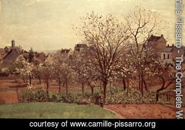 Camille Pissarro - The Orchard, 1870