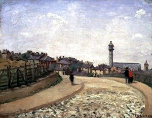 Camille Pissarro - Crystal Palace, Upper Norwood