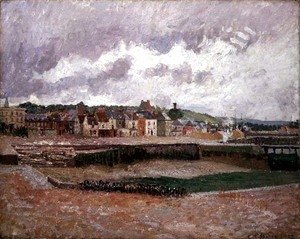 Camille Pissarro - Dieppe, the Duquesne Basin, 1902