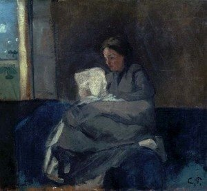 Camille Pissarro - Woman Reading