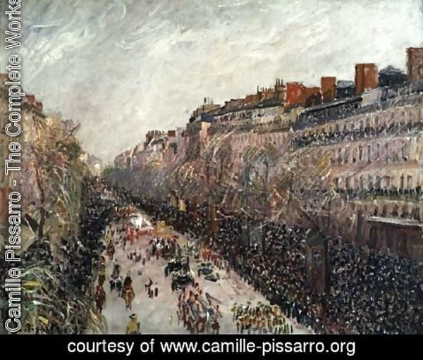 Camille Pissarro - Mardi Gras on the Boulevards, 1897