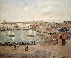 Camille Pissarro - The Outer Harbour at Dieppe, 1902