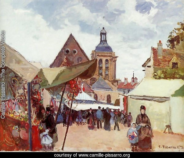 September Fete, Pontoise, 1872