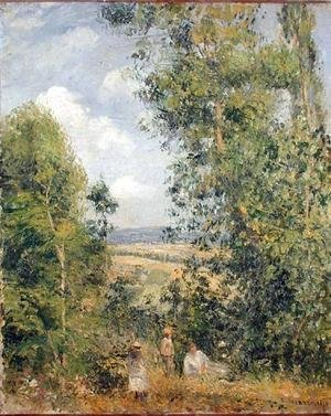 Camille Pissarro - A Rest in the Meadow, 1878