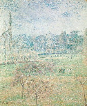 Camille Pissarro - Autumn Morning, 1892