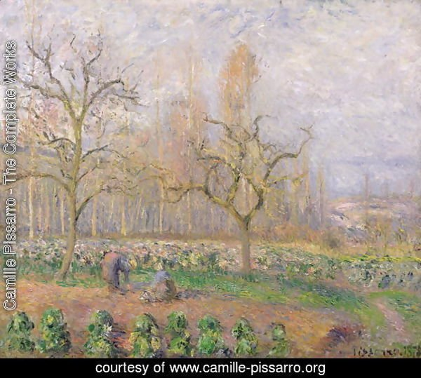 Orchard at Pontoise, 1878