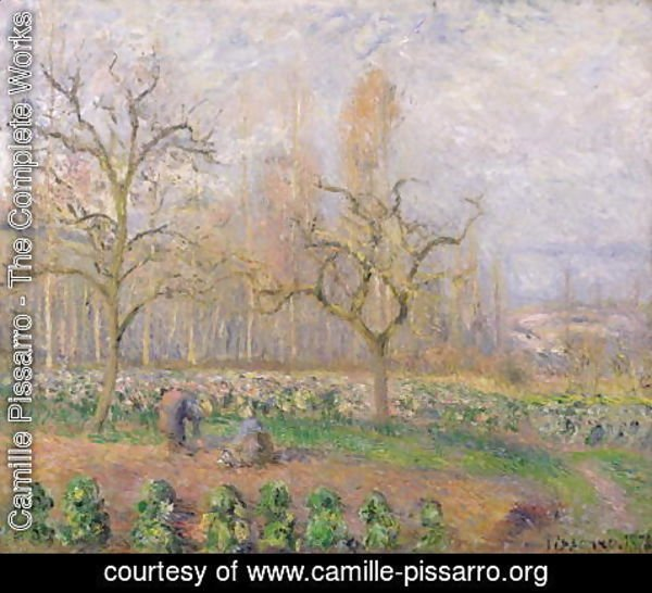 Camille Pissarro - Orchard at Pontoise, 1878