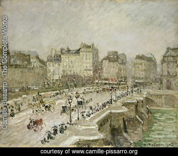 Pont Neuf, Snow Effect, 2nd Series, 1902