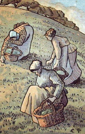Women Gathering Mushrooms, from 'Travaux des Champs',  1893