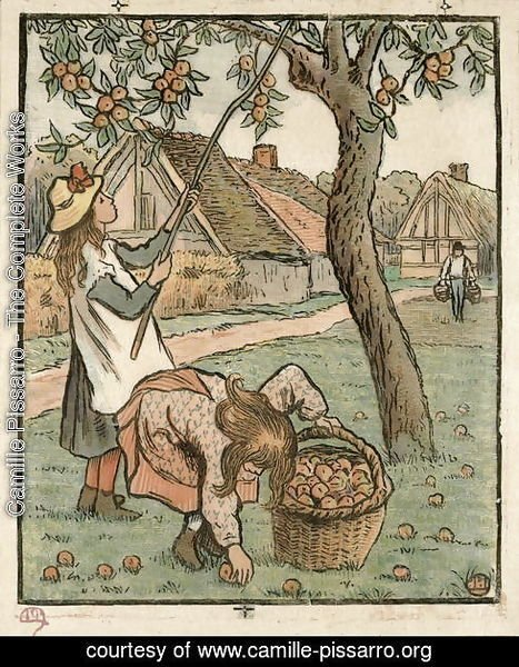 Gathering Apples, from 'Travaux des Champs',  1893