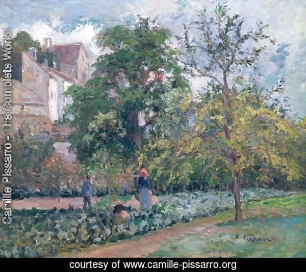 Orchard at Maubisson, Pontoise, 1876