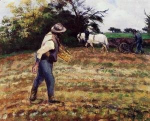 The Sower, Montfoucault, 1875