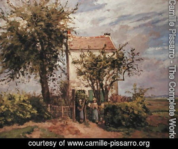 Camille Pissarro - The Road to Rueil
