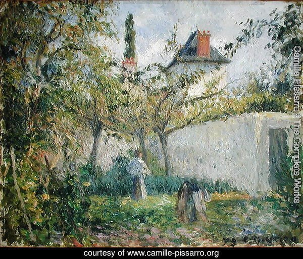 Kitchen Garden and Orchard, Pontoise, 1878