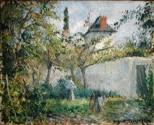 Camille Pissarro - Kitchen Garden and Orchard, Pontoise, 1878