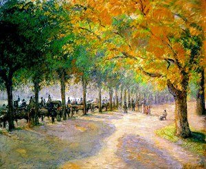 Camille Pissarro - Hyde Park, London, 1890