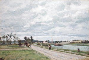 The Banks of the Oise near Pontoise, 1873