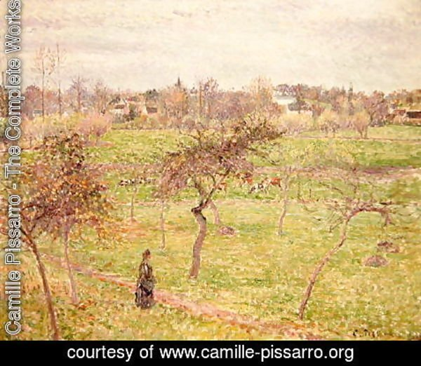 Camille Pissarro - The Meadow at Eragny, 1894