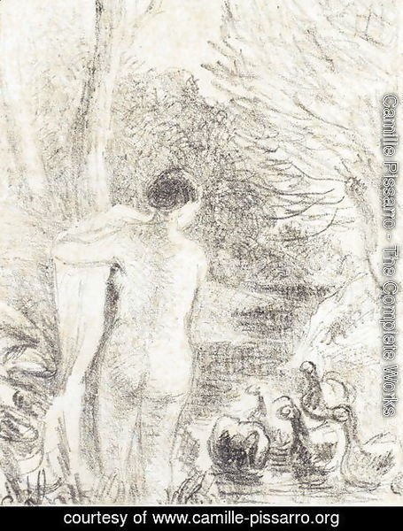 Nude with Swans, c.1895