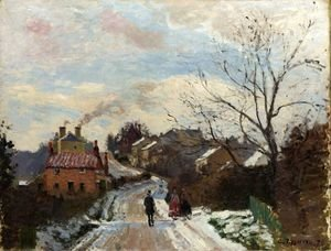 Camille Pissarro - Fox hill, Upper Norwood, 1870