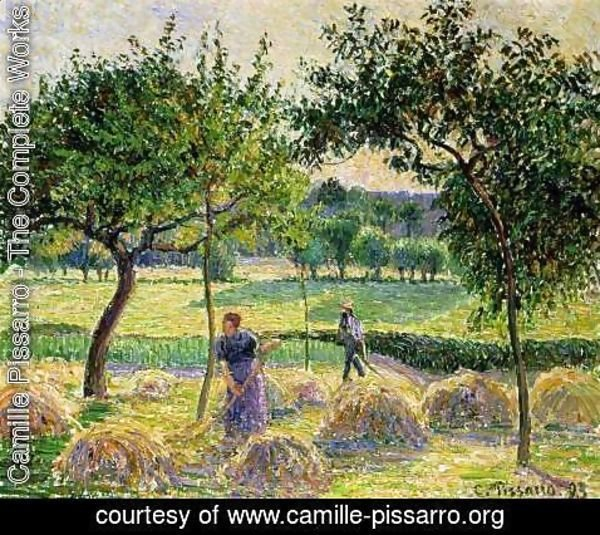 Camille Pissarro - Bountiful Harvest, 1893