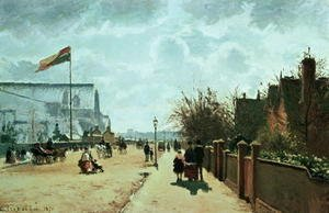Camille Pissarro - The Crystal Palace, London, 1871