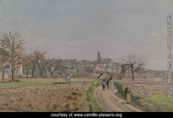 View of Pontoise, 1873 (2)