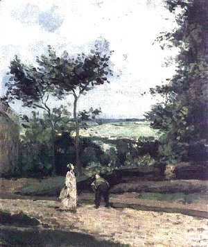 The Courtyard at Louveciennes